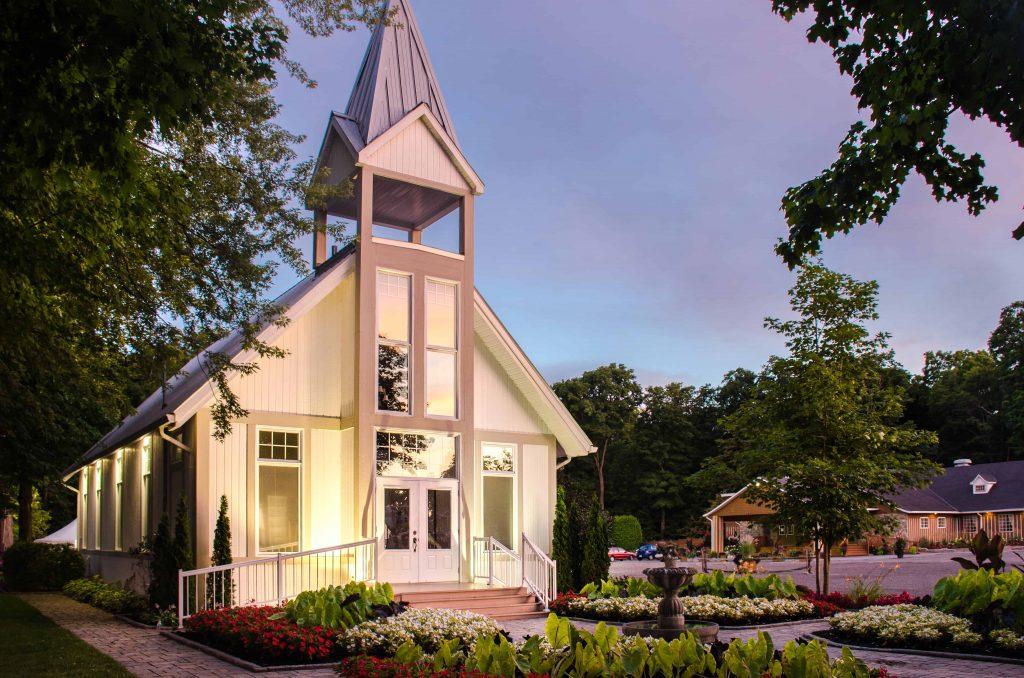 Chapelle Extérieur Mariage