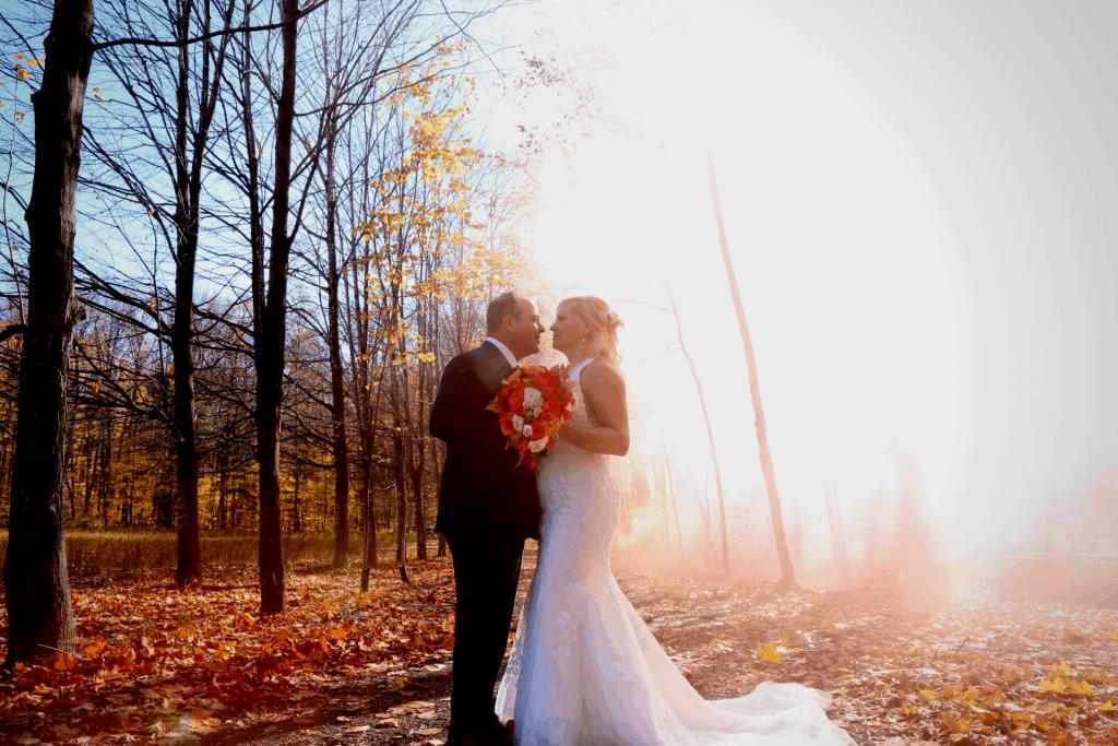 Mariage Automne érablière