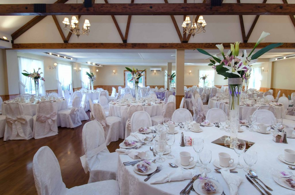 Mariage chic réception salle 2