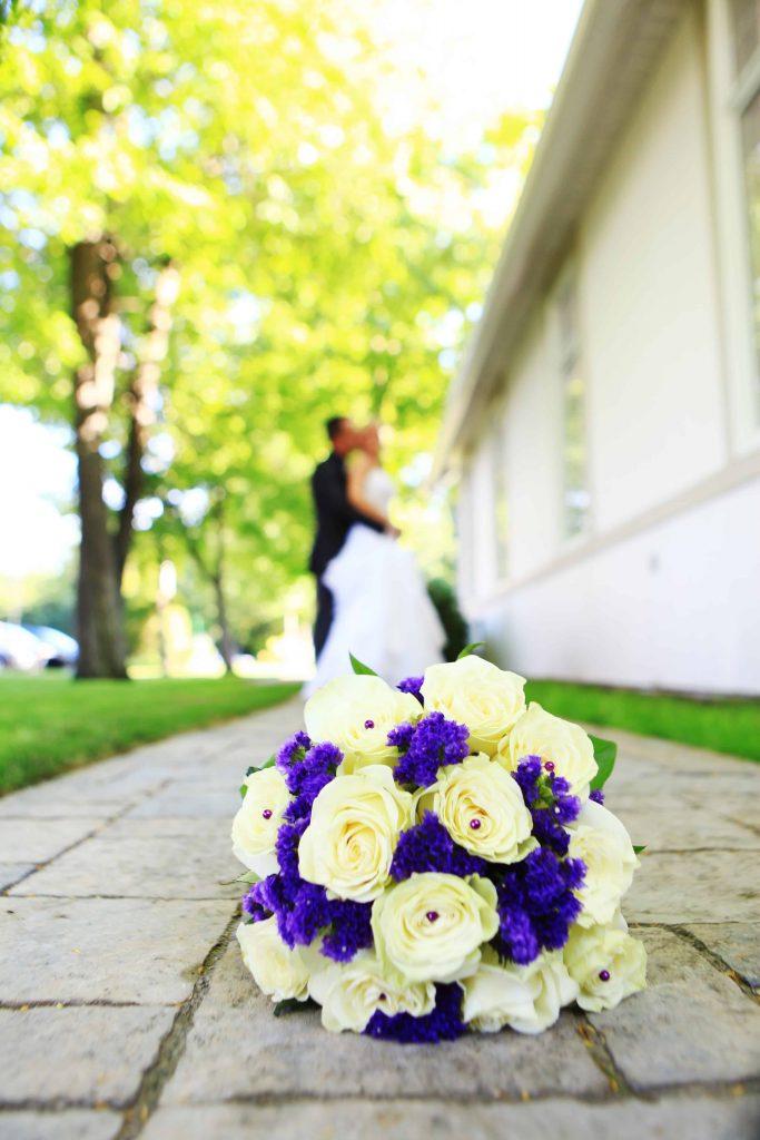 Mariage Extérieur Chapelle