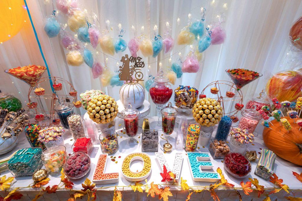 Table Bonbons Mariage Invités