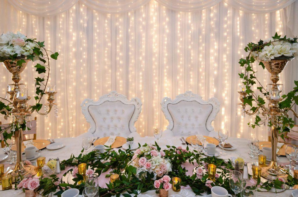 Table D'honneur Chic Fleur