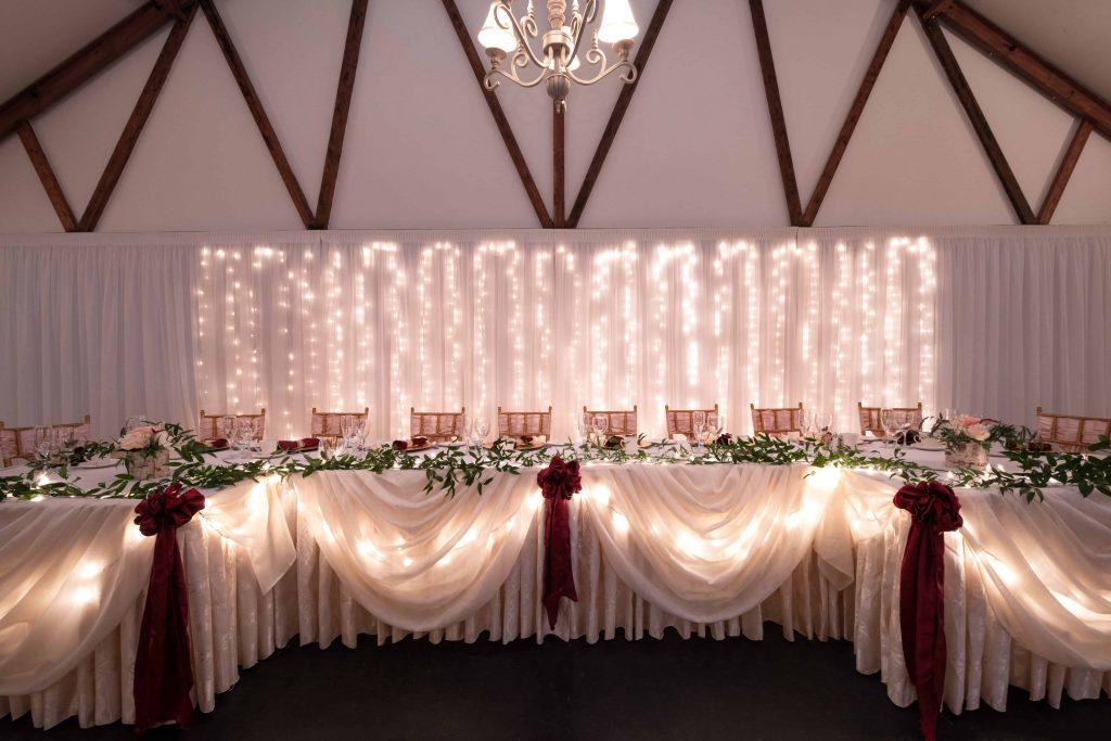 table d'honneur mariage Salle 2