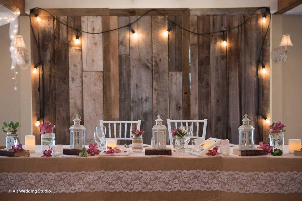 Table D'honneur Rustique Mariage
